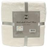 Decke Wohndecke Coral Fleece weiß 150 x 200 Kuscheldecke