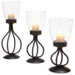 Kerzenständer Kerzenhalter Kerzenleuchter DUNBAR 3 Kerzen