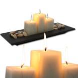 Kerzenständer Kerzenhalter Kerzenleuchter ASHTON 3 Kerzen