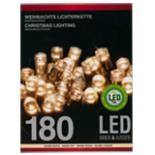 Lichterkette 180 LED für innen außen Weihnachten Deko Kette