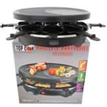 Raclette Party Barbeque Grill für 8 Personen 1200 Watt
