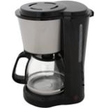 Kaffeemaschine DESKI 1,5L für 12 Tassen silber schwarz 900 W