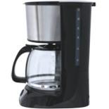 Kaffeemaschine DESKI 1,5L Edelstahl schwarz 800 W 12 Tassen