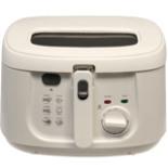 Fritteuse COOK 4 U 1800 Watt 2,5 Liter Friteuse Weiß