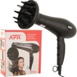 Haartrockner AFK Haarfön HT 2200 Watt mit Diffusor schwarz
