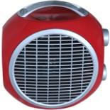 Heizlüfter rot-grau 2000 Watt HOTserie für Sommer & Winter
