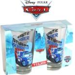 Disney CARS 2 Trinkgläser 2er Set Raoul CaRoule Rennwagen
