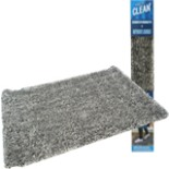 Magic Clean Schmutzfangmatte Fußmatte 70 cm Grau- weiss