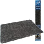 Magic Clean Schmutzfangmatte Fußmatte 70 cm Dunkelgrau