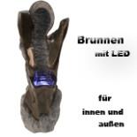 Brunnen LITTORALIS Fiberglas LED-Beleuchtung Zimmer Brunnen