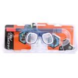 Hydro Pro Mini Taucher Schnorchel - Set für Kinder blau