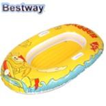 BESTWAY Wasser Schlauchboot Kinder Happy  137x89cm Gelb