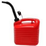 Reserve Kanister 10 Liter mit Trichter Treibstoff Öle Benzin