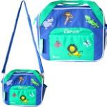 Kinder Kühltasche Jungen LUNCH TO GO KIDS blau/grün 4,8 Ltr