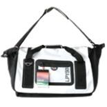 Sporttasche La Playa Trapeze 50 WASSERDICHT schwarz weiß NEU