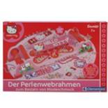 Webrahmen Perlen HELLO KITTY von Clementoni Schmuck basteln