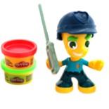 Play Doh Town Polizist Figur Junge Hasbro Rote & Grüne Knete