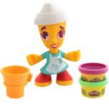 Play Doh Town Figur Eis Mädchen Hasbro Grüne & Lila Knete