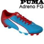 Puma Sport Fußballschuhe Adreno FG Größe 40,5 blau rot weiss