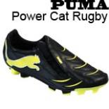 Puma Fußballschuhe Power Cat Rugby Gr 45 schwarz gelb silber