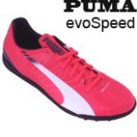 Puma Fußballschuhe evoSPEED Gr 41 Neon pink Noppensohle