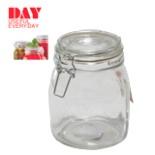 Einmachglas DAY 1,00 Liter Glas mit Bügelverschluss Weckglas