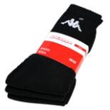 Socken Sportsocken 3-er Pack KAPPA schwarz 39-42 Tennissocke