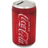 Coca Cola Spardose rund 6,3 cm Ø Rot im Retro Stil