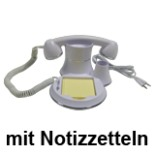 Telefon Hörer Voice over IP Assistent mit Notizablage