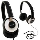 Kopfhörer mit Bügel PHILIPS Citi Scape weiss schwarz